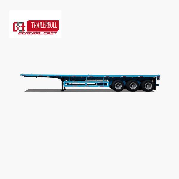GET.9TJZP.HD.3:40 40ft 3 Axles Heavy Duty Flatbed Truck Semi Trailer3